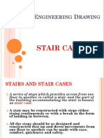 Civil Engineering Drwg- Stair Case