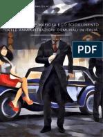 L'infiltrazione mafiosa e lo scioglimento delle amministrazioni comunali in Italia