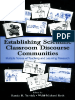 Establishing Scientific Classroom Discourse Communities- Multiple Voices of Teaching