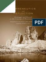 Cópia de F. Von Herrmann-Hermeneutics and Reflection_ Heidegger and Husserl on the Concept of Phenomenology