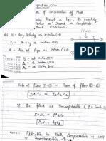 L 11-Continuity Equation