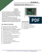 Datasheet RFM69HCW