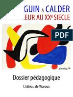 Exposition «La Couleur...de Paul Gauguin à Alexander Calder»