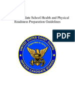 OCS Health Physical Readiness Preparation Guide
