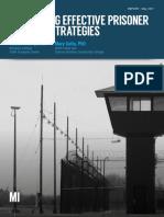 Identifying Effective Prisoner Reentry Strategies