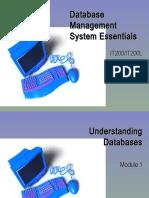 01 Undestanding Databases