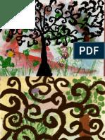Arbre Aux Spirales Inspiré de Klimt