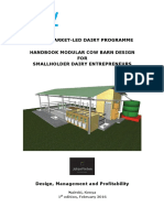 Kmdp - Handbook Modular Cow Barn Design for Smallholder Dairy Entrepreneurs 0