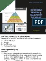 Economia Minera 8va. Semana 2017 - i