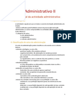 D. Administrativo II