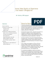 Measuring Internet Video Quality of Experience