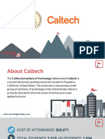 Study Abroad at California Institute of Technology - Caltech, Admission Requirements, Courses, Fees