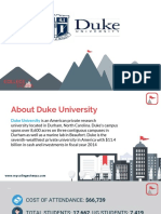 Study Abroad at Duke University, , Admission Requirements, Courses, Fees