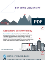 Study Abroad at New York University, Admission Requirements, Courses, Fees