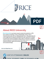 Study Abroad at Rice University, Admission Requirements, Courses, Fees