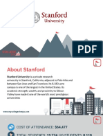 Study Abroad at Stanford University, Admission Requirements, Courses, Fees