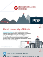 Study Abroad at University of Illinos,Chicago, Admission Requirements, Courses, Fees
