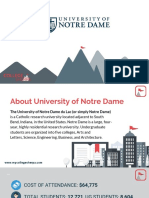 Study Abroad at University of Notre Dame, Admission Requirements, Courses, Fees