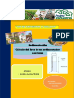 cálculo de un sedimentador Continuo.docx