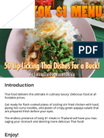 Bangkok Dollar Menu Oct 2015