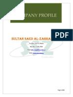 Sultan Saed Al - Zahrani Est Profile