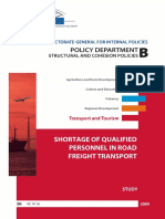 4 EP 2009 Shortage of Personnel in Road Transport