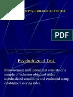 Introduction Principles of Psychological Measurement