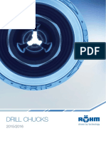 Rohm Drill Chucks Catalogue 2015-16