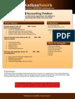 Resume Template5