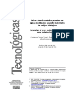2015 Tejada-Tovar - Review_adsorcion Con Materiales Biologicos