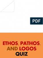 Ethos, Pathos, Logos Quiz (Picture Presentation)