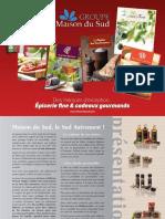 Catalogue 2017 Maison Du Sud-La Grive&l'Olivier