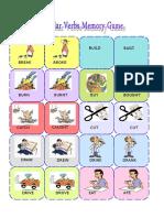 Irregular Verbs Memory Card Game 1 3