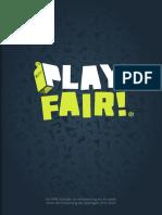 FIFA, IFAB, Regeländerungen, Play fair-Papier, 2017