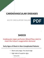 4. Acute Circulatory Failure