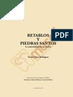 2015 Retablos y Piedras Santos
