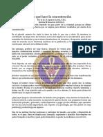 Concentracion, Lo que hace la - Sep51 - H. Spencer Lewis, F.R.C..pdf