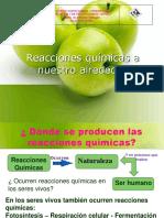 Reacciones Quimicas a Nuestro Alrededor