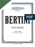 12ShortStudies Bertini