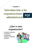 1 Introduccinalasorganizacionesyalaadministracin 100214132521 Phpapp02