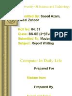 Communication Skill and Report Writing