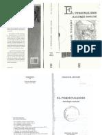 A -Mounier, Emanuel - El Personalismo