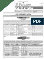 Diario Oficial El Peruano, Edición 9731. 19 de junio de 2017