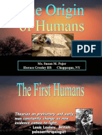 Origin of Humans