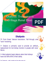 Hemodialysis and Peritoneal Dialysis