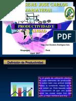 Productividad Calidad i Unidad 2017-11