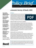 Economic Survey of Brazil 2009-10