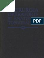 Chirurgia Operatorie Si Anatomia Topografica