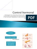 Control Hormonal 2 Medio Bueno