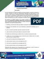 Evidencia 3 Taller Analisis DOFA
